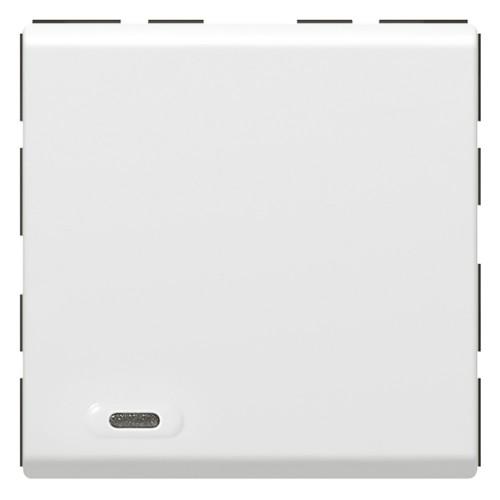 Выключатель 1 цепь 2 модуля Mosaic SCS 078475