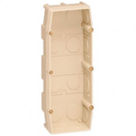 Mosaic Коробка Superbox 3 поста, глубина 40мм | 089127 | Legrand
