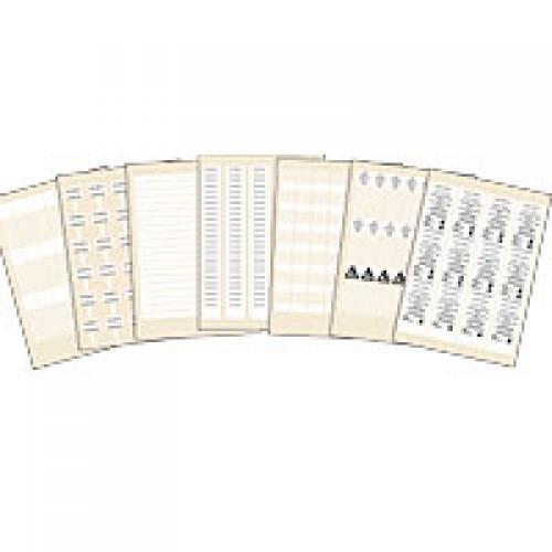 Mosaic Этикетка/лаз.печ.уст.для рамки | 038848 | Legrand