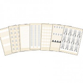 Mosaic Этикетка/лаз.печ.уст.монт.шкафы | 038829 | Legrand
