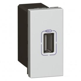 USB роз. д/зарядки одинар. бел | 079391 | Legrand