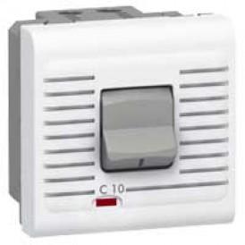 Автоматический выключатель - Программа Mosaic - термомагнитный, П + Н, 230 В~ - 10 A - 2 модуля - белый | 077521 | Legrand