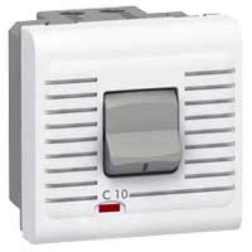 Выключатель автоматический дифференциальный термомагнитный 10А Legrand Mosaic 077521 белый