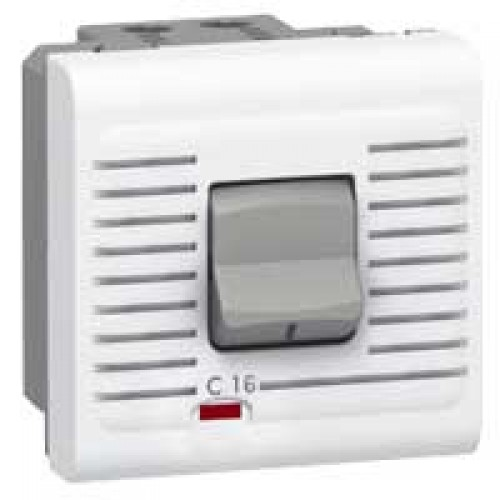 Выключатель автоматический дифференциальный термомагнитный 16А Legrand Mosaic 077522 белый