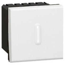 Выключатель с выдержкой времени 1000Вт Legrand Mosaic 078420 белый