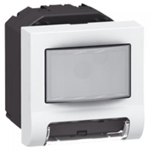 Выключатель подсветки с ИК датчиком Legrand Mosaic 078511 белый