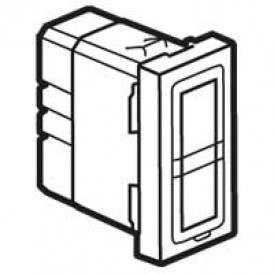 Двойная лампочка подсветки - Программа Mosaic - 12-24-48 В - 1 модуль | 078552 | Legrand