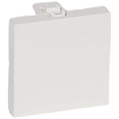 Заглушка 2 модуля антибактериальная Legrand Mosaic 078721 белая