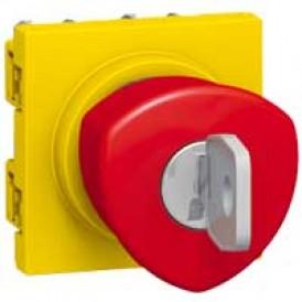 Кнопка аварийного откл. с ключом | 076601 | Legrand
