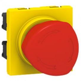 Кнопка аварийного отключения Mosaic на 1/4 об. | 076602 | Legrand