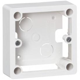 Коробка для накладного монтажа Legrand Mosaic 055849 белая