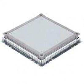 Крышка сплошная метал. для встраивания напольн. коробок 16М/24М | 089638 | Legrand