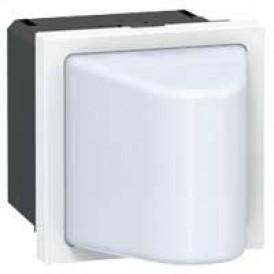 Малое световое табло с подсветкой белым светодиодом - Программа Mosaic - 230 В - 2 модуля | 078571 | Legrand