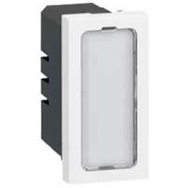 Одинарная лампочка подсветки - Программа Mosaic - 12-24-48 В - 1 модуль | 078551 | Legrand