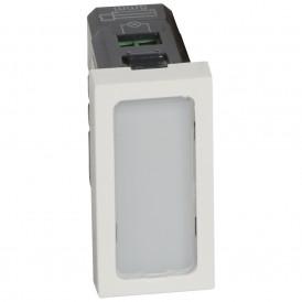 Одинарная лампочка подсветки - Программа Mosaic - 230 В - 1 модуль - белая | 078501 | Legrand