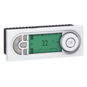 Программируемый электронный термостат - Программа Mosaic - 5 модулей - белый | 076721 | Legrand