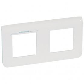 Рамка - Программа Mosaic - 2x2 модуля - горизонтальная - антибактериальная | 078725 | Legrand