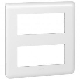 Рамка 2х5 модулей Legrand Mosaic 078830 белая
