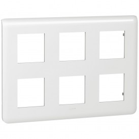 Рамка 2х3х2 модуля Legrand Mosaic 078832 белая