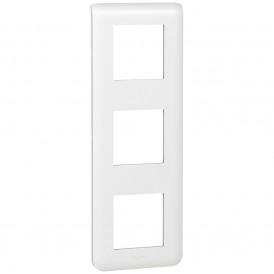 Рамка 3х2 модуля вертикальная Legrand Mosaic 078823 белая