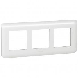 Рамка 3x2 модуля горизонтальная Legrand Mosaic 078866 белая