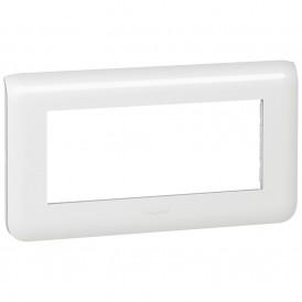 Рамка 5 модулей горизонтальная Legrand Mosaic 078815 белая