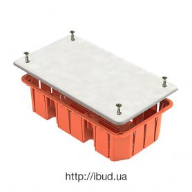 GE41026  Коробка распаячная для полых стен 172х96х45мм,  IP20 (70шт)