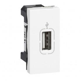 Розетка USB разъём - Программа Mosaic - 1 модуль - белая | 078761 | Legrand