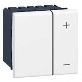 Светорегулятор 600 Вт - 2 проводной - без нейтрали - Программа Mosaic - 230 В~ - белый | 078405 | Legrand