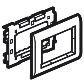 Суппорт 4м MOSAIC кр.75 для кабель-каналов Metra | 638003 | Legrand