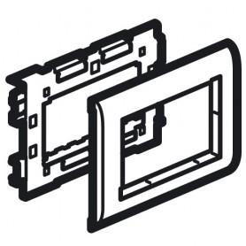 Суппорт Mosaic - 4 модуля - для кабель-каналов Metra 160x50 | 638087 | Legrand