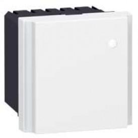 Фильтр - Программа Mosaic - 6 А - с конденсаторами для защиты от помех - 2 модуля - белый | 077542 | Legrand