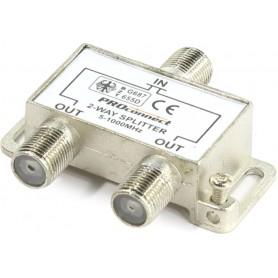 ДЕЛИТЕЛЬ  ТВ  х 2 под F разъём 5-1000 МГц | 05-6021 | PROconnect