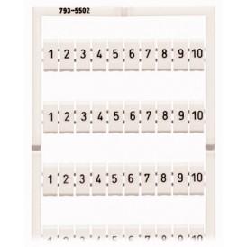 Набор маркеров WMB,500 шт./набор (уп/5шт) | 793-5502 | WAGO