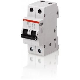 Выключатель автоматический двухполюсный SH202L 25А B 4,5кА (SH202L B25) | 2CDS242001R0255 | ABB