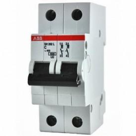 Выключатель автоматический двухполюсный SH202L 50А C 4,5кА (SH202L C50) | 2CDS242001R0504 | ABB