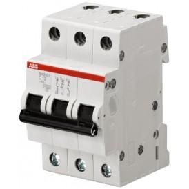 Выключатель автоматический трехполюсный SH203L 16А B 4,5кА (SH203L B16) | 2CDS243001R0165 | ABB