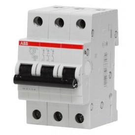 Автомат ABB 50А трехполюсный SH203L C50 4,5кА