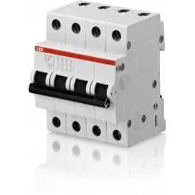 Выключатель автоматический четырехполюсный SH204L 10А C 4,5кА (SH204L C10)   2CDS244001R0104   ABB