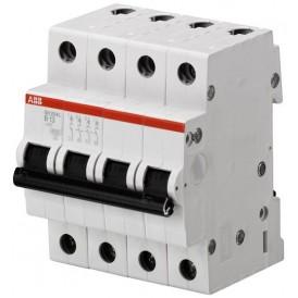 Выключатель автоматический четырехполюсный SH204L 50А B 4,5кА (SH204L B50)   2CDS244001R0505   ABB