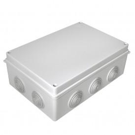 Коробка распаячная  260х175х90 безгалогенная HF, 10 вводов, IP55 Промрукав 40-0330
