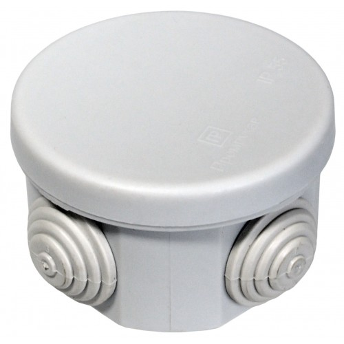 Коробка распаячная 65х40 , 4 ввода IP55 Промрукав