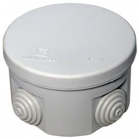Коробка распаячная 80х50 , IP55 4 ввода Промрукав 40-0120