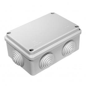 Коробка распаячная 120х80х50 безгалогенная HF, IP 55 6 вводов Промрукав 40-0340