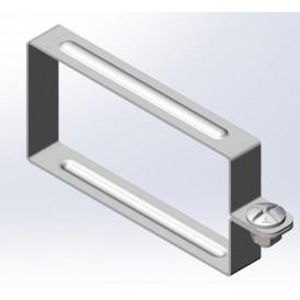 Хомут крышки лотка универсальный 100х65 | ХКУ-100х65 | OSTEC