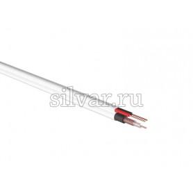 ККСВ-В + 2х0.5мм., 100м., белый  REXANT