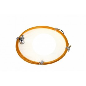 Протяжка кабельная (мини УЗК в бухте), 15м, черный нейлон, d=3мм, латунный наконечник, заглушка.