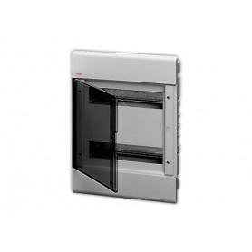 EUROPA бокс в нишу 24М прозр.дверь серый