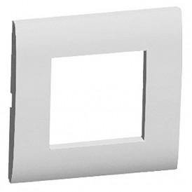 Рамка 1-постовая (серебристый металлик) LK45   854103  Экопласт