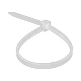 Хомут nylon 4.0 х 200 мм 100 шт  белый  REXANT